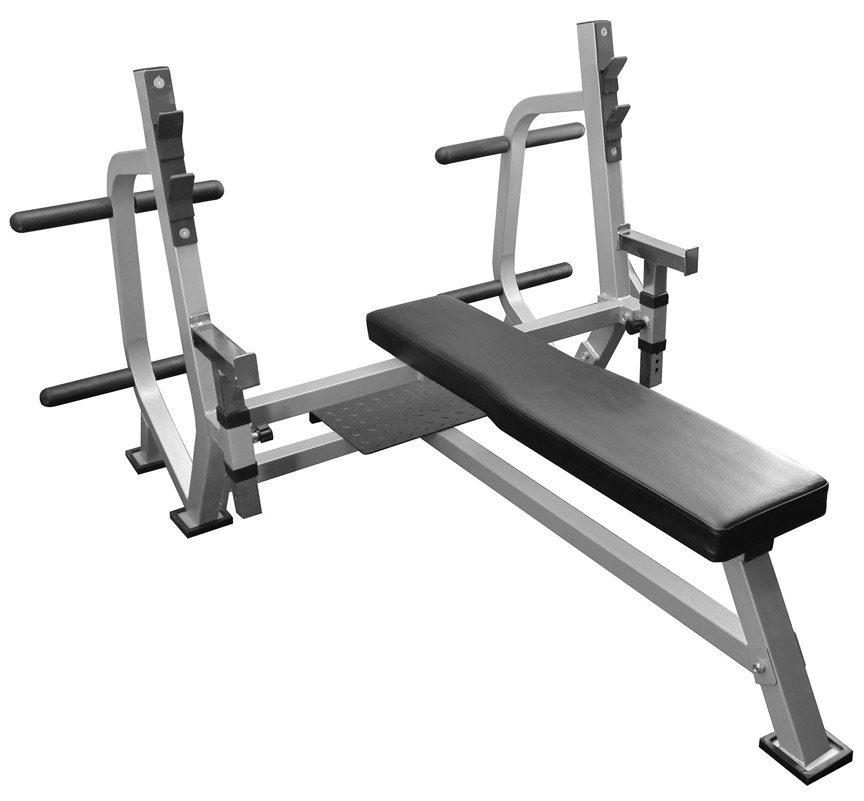 Safety Stands For Bench Press Part - 38: Valor Athletics BF-49 Olympic Weight Bench With Spotter Platform