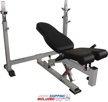 Valor Athletics BF-52 Olympic Bench with Dual Positions