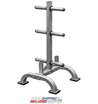 Valor Athletics BH-7 Olympic Bar and Plate Rack
