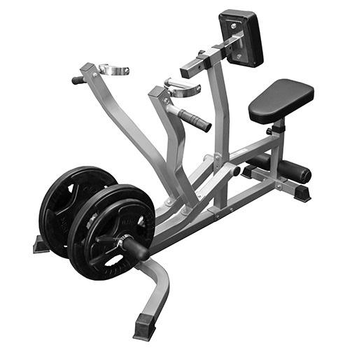 seated row exercise machine