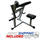 Plate Loaded Bicep / Tricep Combo Arm Machine
