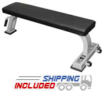 Valor Athletics DA-6 Flat Utility Bench with Transport System
