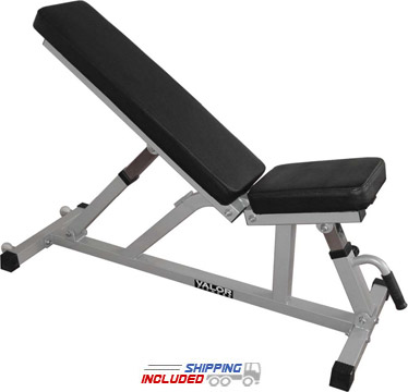 Incline/Flat Utility Bench with Wheels
