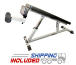 Valor Athletics DF-2 Decline / Flat Utility Bench for Ab and Dumbbell Work