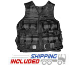 20 lb. Adjustable Weighted Vest for Cross-Training
