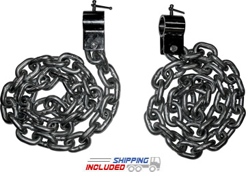 6' Lifting Chains - 44 lb. Set