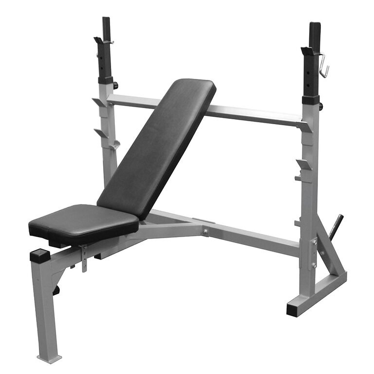 Lovely Used Bench Press With Weights Part - 2: Valor Athletics BF-39 Flat/Incline/Decline Olympic Bench Press For Home Gym