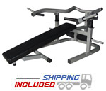 Valor Athletics BF-47 Plate Loaded Bench Press Machine for Home Gyms