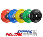 Valor Low Bounce Bumper Plate Sets
