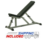 Valor Athletics DD-3 Incline/Flat Utility Weight Training Bench