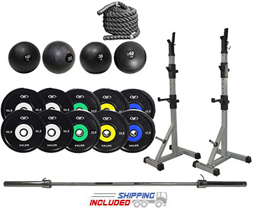 Garage Gym Cross-Training Studio Set