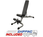 Valor Fitness DD-25 Flat Incline Decline Weight Bench for Strength Training