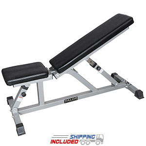 Valor Fitness DD-3 Incline / Flat Utility Bench for Weight Lifting
