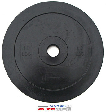 10 lb. Solid Rubber Technique Training Plates