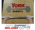 York Barbell 7' Extreme Olympic Fat Bar
