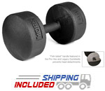 Legacy Solid Round Pro Dumbbell 5-50 Set
