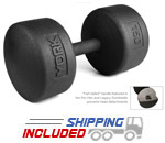 Legacy Solid Round Pro Dumbbell 130-150 Set