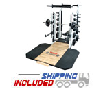 York Barbell ST Double-Sided Half Rack for Commercial Gyms