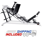 York Barbell Plate Loaded ST Heavy-Duty Linear Bearing Leg Press