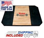 York Barbell Red Oak Olympic Weight Lifting Platforms for Commercial Gyms
