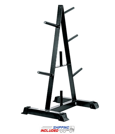 York Barbell 69035 A-Frame Standard Weight Plate Tree