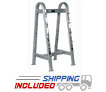 York Barbell 69051 ETS Fixed Weight Horizontal Barbell Rack