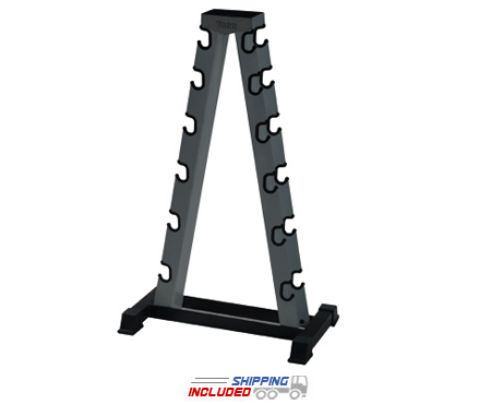 A-Frame Dumbbell Rack with Wear Guards