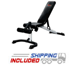 York Barbell 48004 Decline to Incline Dumbbell Utility Bench