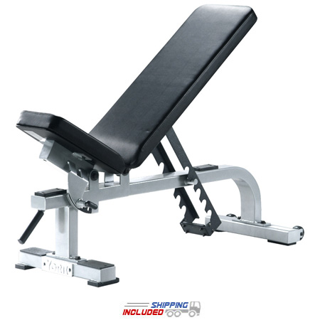 York Barbell 54027-55027 0-90 Degree Utility Weight Lifting Bench