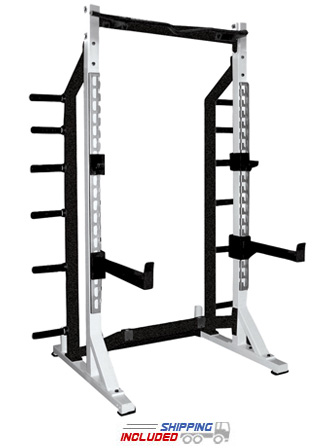 York Barbell ST Strength Training Half Rack for Commercial Gyms
