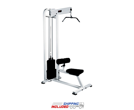 York Barbell ST Selectorized Lat Pulldown Machine for Commercial Gyms