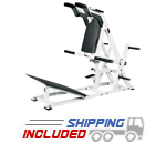 York Barbell ST Plate Loaded Power Front Squat Machine