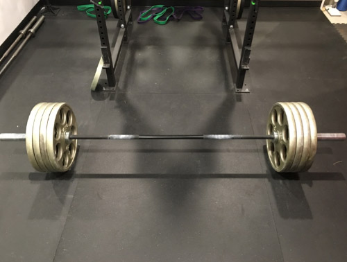 Ironcompany CrossFit Deadlifting Bar with Ivanko OMEZH Olympic Plates