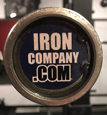 Ironcompany CrossFit Box Bar with Snap Ring Assembly