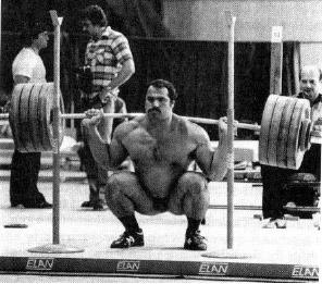 High Bar Squat Olympic Champion Anatoli Piserenko