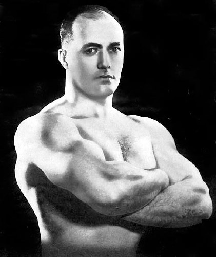 Bob Hoffman owner of York Barbell and founder of Muscular Development magazine.