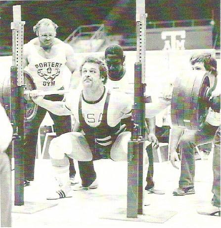 Doug Furnas Barbell Squat