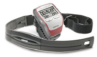 Heart rate monitor with chest strap for resistance training, exercise and fitness