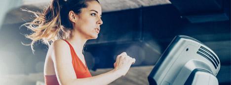 High intensity cardio training for fat burning