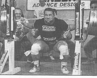 Hall of Fame Lifter Kirk Karwoski World Record Squat