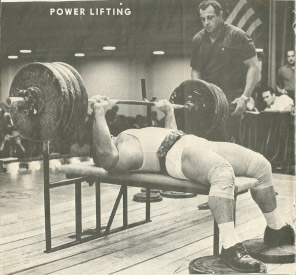 Mel Hennessy Competitive Bench Press