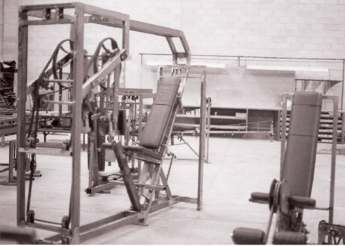 Nautilus exercise machines developed by Art Jones