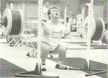 Olympic Weightlifting Champion Niam Suleymanoglu Front Squat