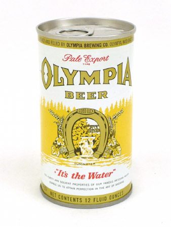 Olympia beer, quite possibly how Joe Weider came up with the Mr. Olympia bodybuilding contest name.