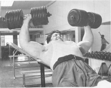 Pat Casey 200 lb. Dumbbell Incline Bench Press