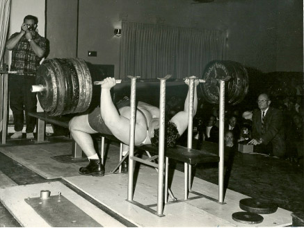 Pat Casey Olympic Bench Press