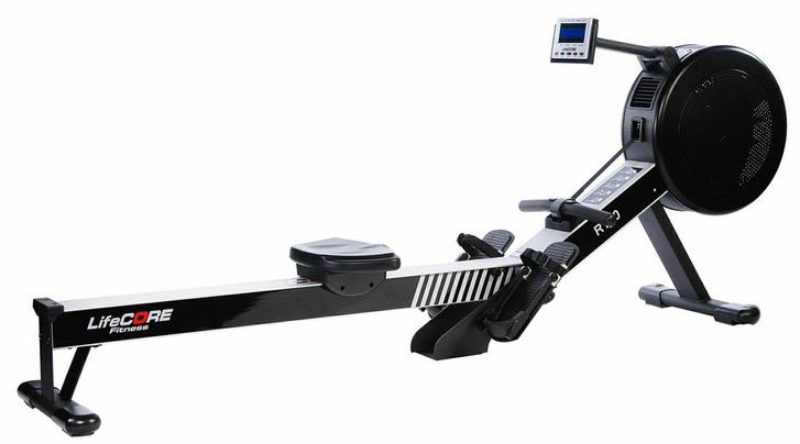 LifeCore LC-R100 Commercial Quality Rowing Machine for Garage Gym Cardio Workout
