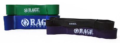 Rage Resistance Bands for Strength Training