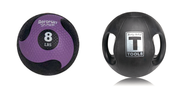 Medicine Ball and Slammer Ball Similarities and Differences Purchasing Guide