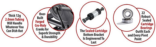 assault air bike crank bearings